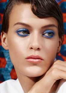 Friseur-Celle-La-Biosthetique-Make-up-Collection-Spring-Summer-2019-Modern-Blue